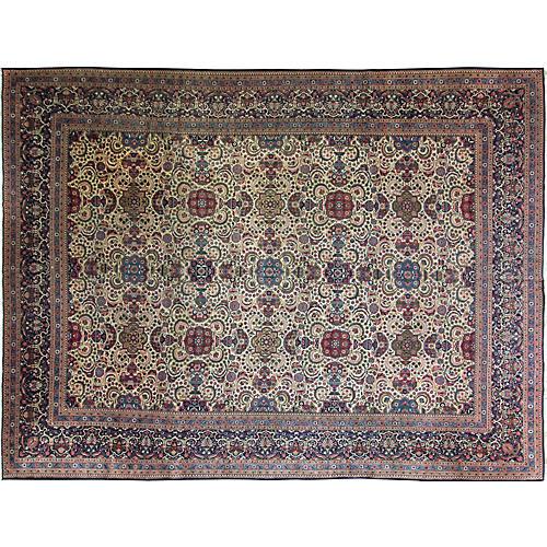 """Kashan Dabir Carpet, 10'2"""" x 13'8"""""""