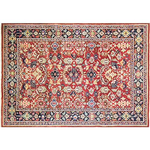 Persian Sultanabad Carpet, 7' x 10'