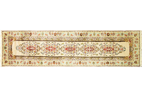 Persian Tabriz Runner, 2'8