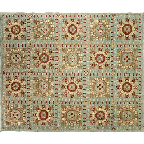 "Savonnerie Carpet, 8'3"" x 16'6"""