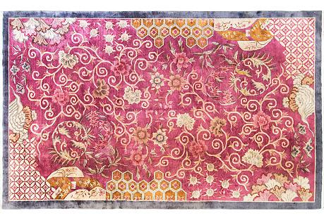Art Deco Carpet, 8'11