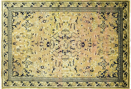 Antique Chinese Rug, 4'6