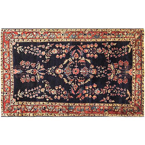 """Persian Sarouk Rug, 2'10"""" x 4'10"""""""