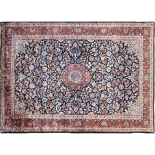 "6' x 8'6"" wonderful Persian Kashan Rug"