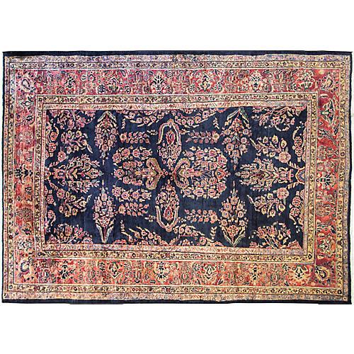 """8'7"""" x 12'3"""" Classic Persian Sarouk Rug"""