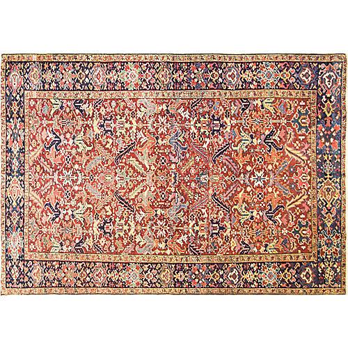 "Dragon Heriz Carpet, 7'8"" x 11'"
