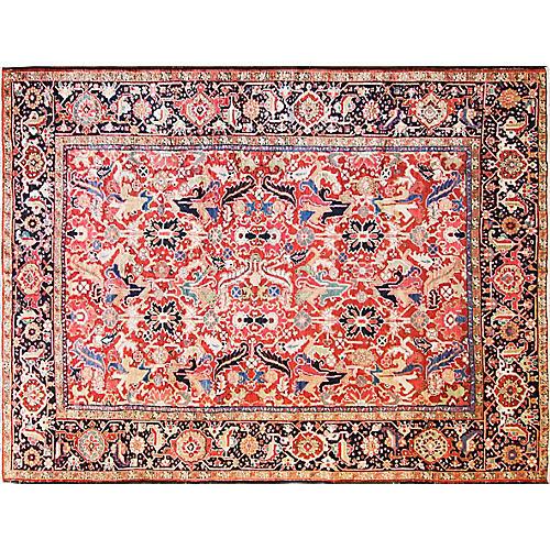 "Persian Heriz Rug, 7'7"" x 10'"