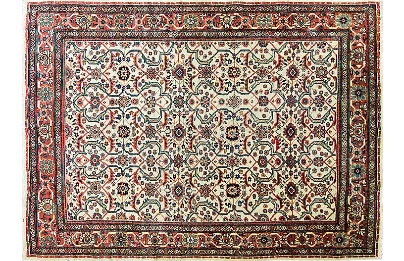 Antique Sultanabad Rug, 7' x 10'