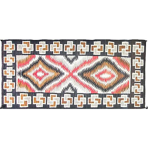 "Navajo Eye Dazzler Rug, 4'2"" x 9'4"""
