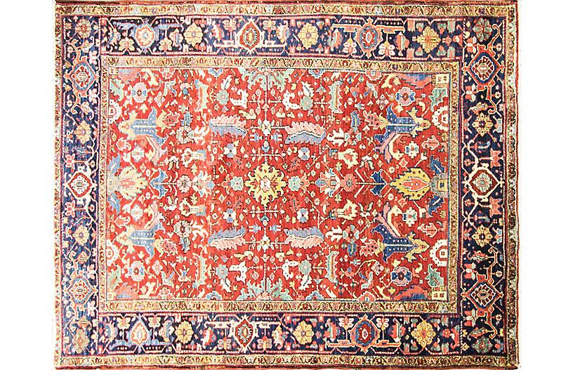 Dragon Heriz Carpet, 7'9