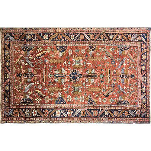 "Heriz Village Carpet, 8' x 12'9"""