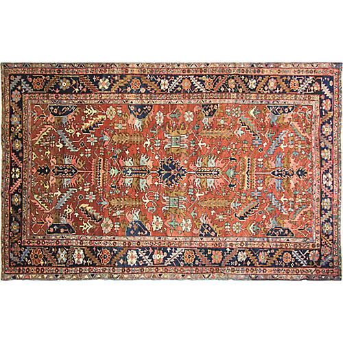Heriz Village Carpet, 8' x 12'9""