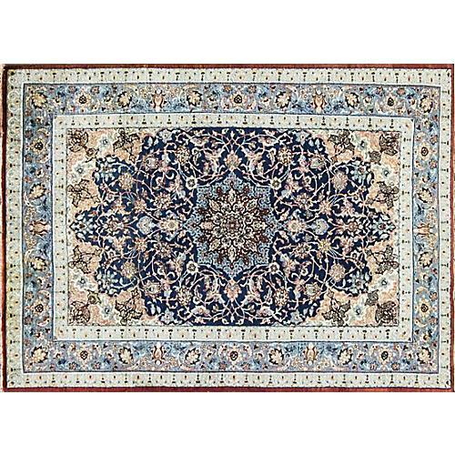 "Persian Isfahan Rug, 3'3"" x 4'8"""