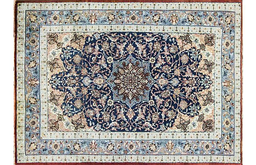 Persian Isfahan Rug, 3'3