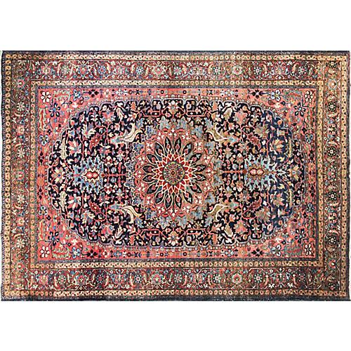 "Antique Heriz Sherabian Rug, 7'6"" x 10'3"