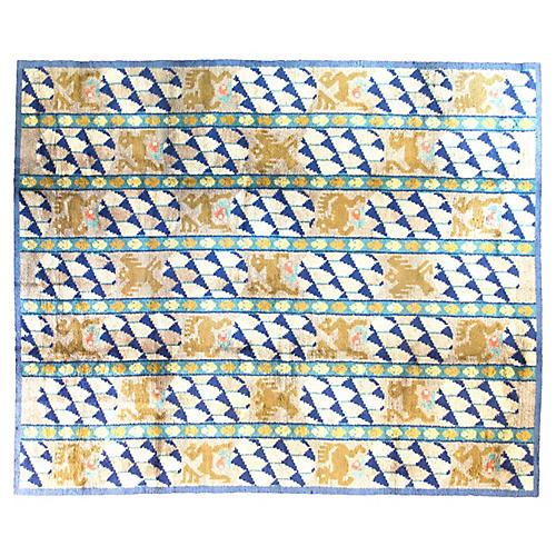 """Scandinavian Carpet, 9'4"""" x 12'"""