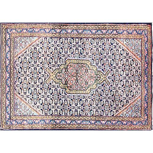 """Persian Senneh Rug, 2'5"""" x 3'7"""""""