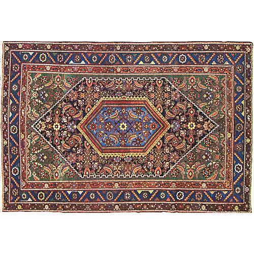 "Persian Malayer Rug, 4'4"" x 6'7"""