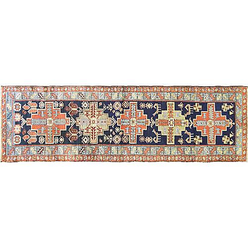 """Persian Karaja Rug, 2'10"""" x 9'9"""""""