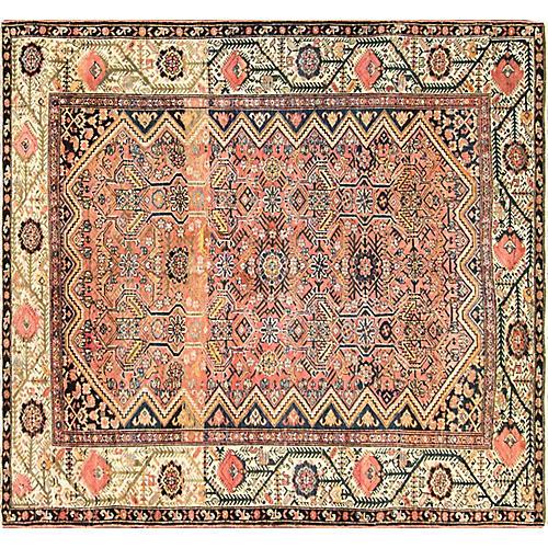 "Antique Persian Malayer Rug, 5'4"" x 5'8"""