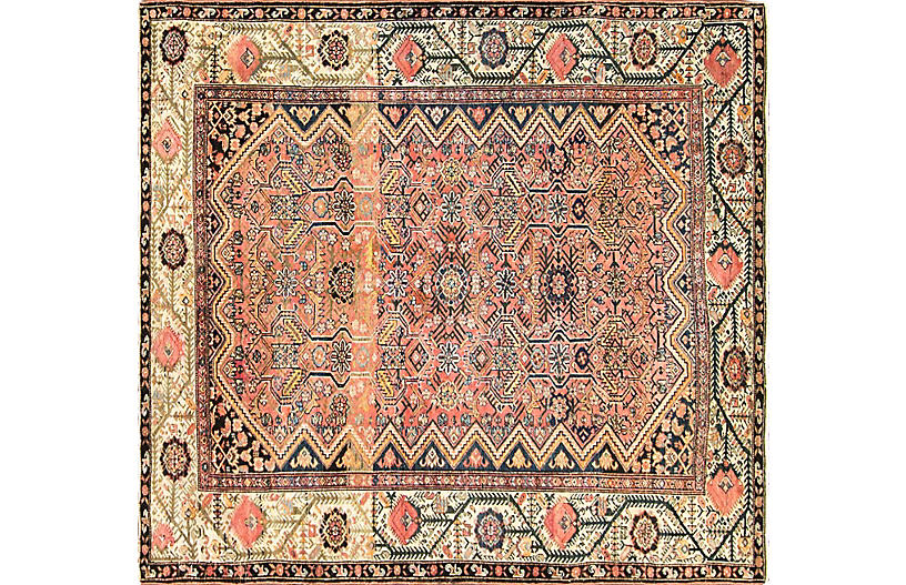 Antique Persian Malayer Rug, 5'4