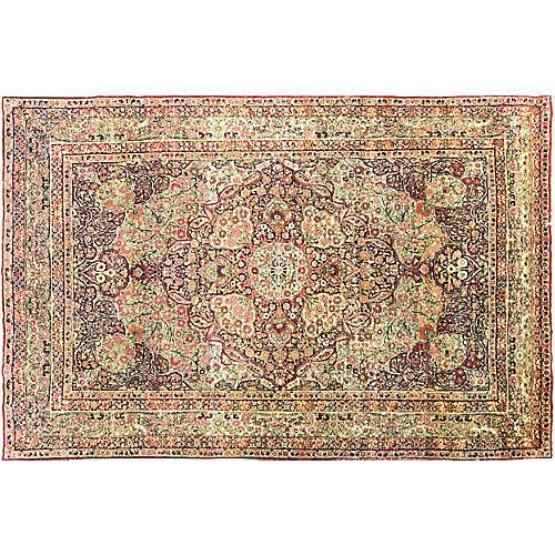 """Antique Kermanshah Rug, 6'10"""" x 10'2"""""""