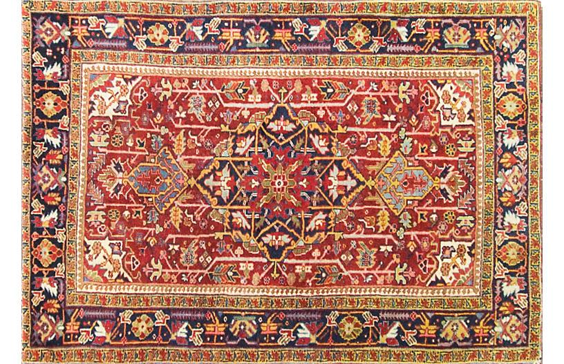 Persian Heriz Rug, 3'7