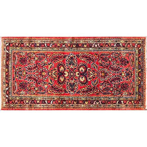 "Persian Lilihan Rug, 3' x 6'1"""