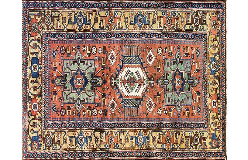 Antique Karaja Serapi Rug, 5'2