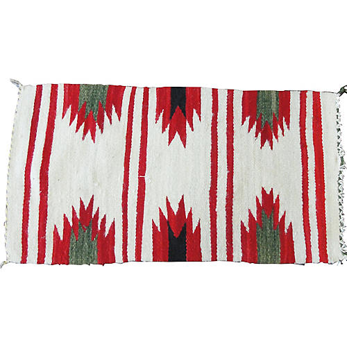 "1'9"" x3' Navajo Rug, #17052"
