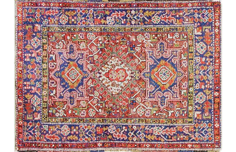 Antique Persian Karajeh Rug, 3'2