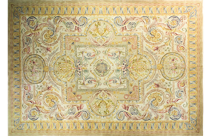 French Savonnerie Carpet, 11'1
