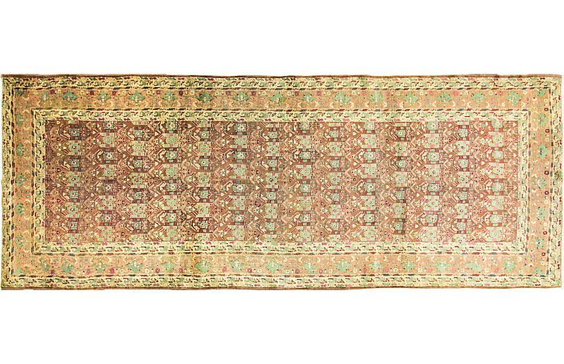Antique Agra Gallery Runner, 4'6