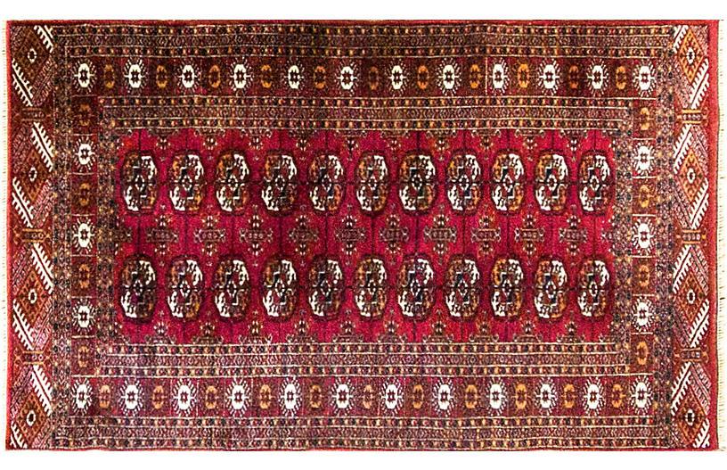 Persian Turkoman Rug,3' x 5'2