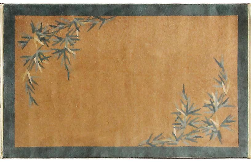 Antique Art Deco Rug, 3'1