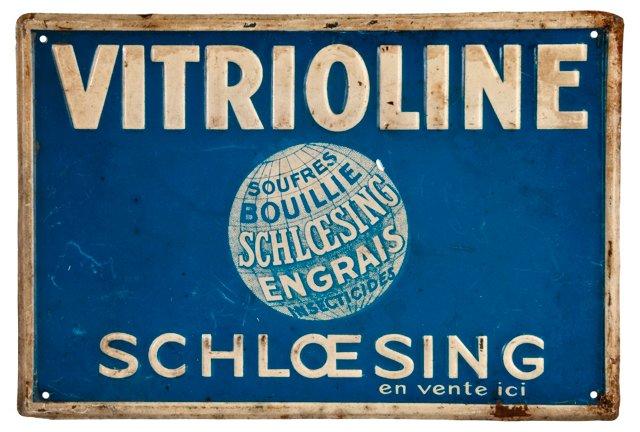 French Vitrioline Sign