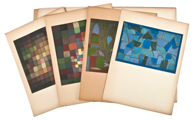 Klee: 10 Facsimile Reproductions
