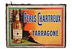 French Pères Chartreux Liqueur Sign