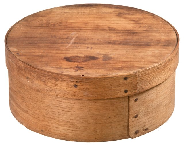 New Hampshire Wood Pantry Box