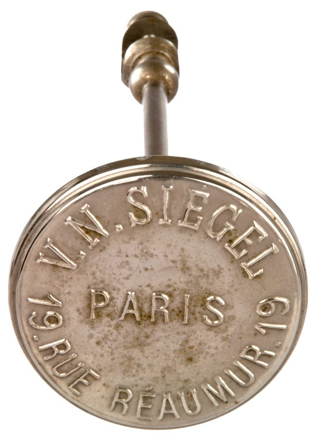 Silver Siegel French Hat Stand
