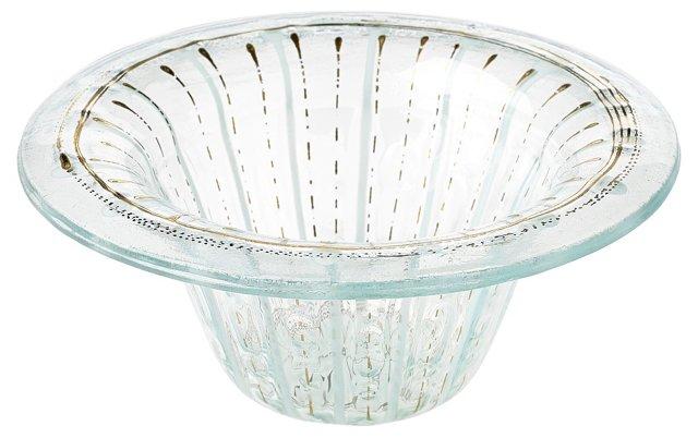Higgins Fused Glass Bowl