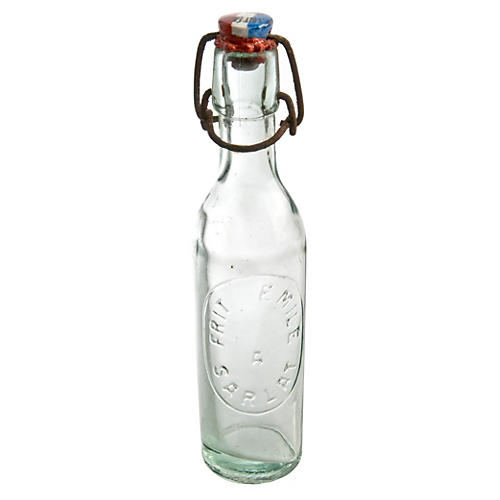 French Glass Sariat Bottle