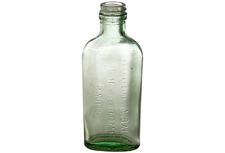 French  Green A. Bailly Paris Bottle