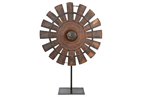 Wood Loom Wheel