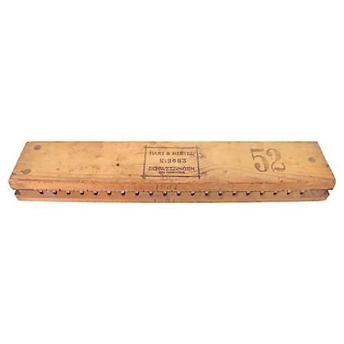 Hart & Hertel German Cigar Mold