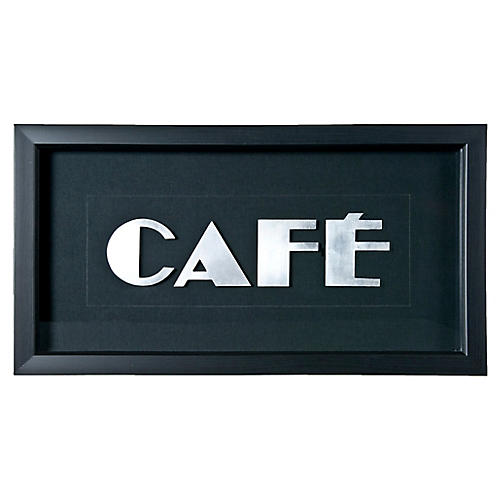 French Art Deco Sign