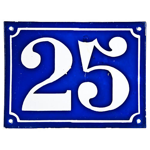 French House Number 25