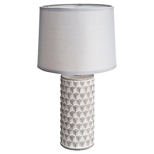Cast Concrete Table Lamp