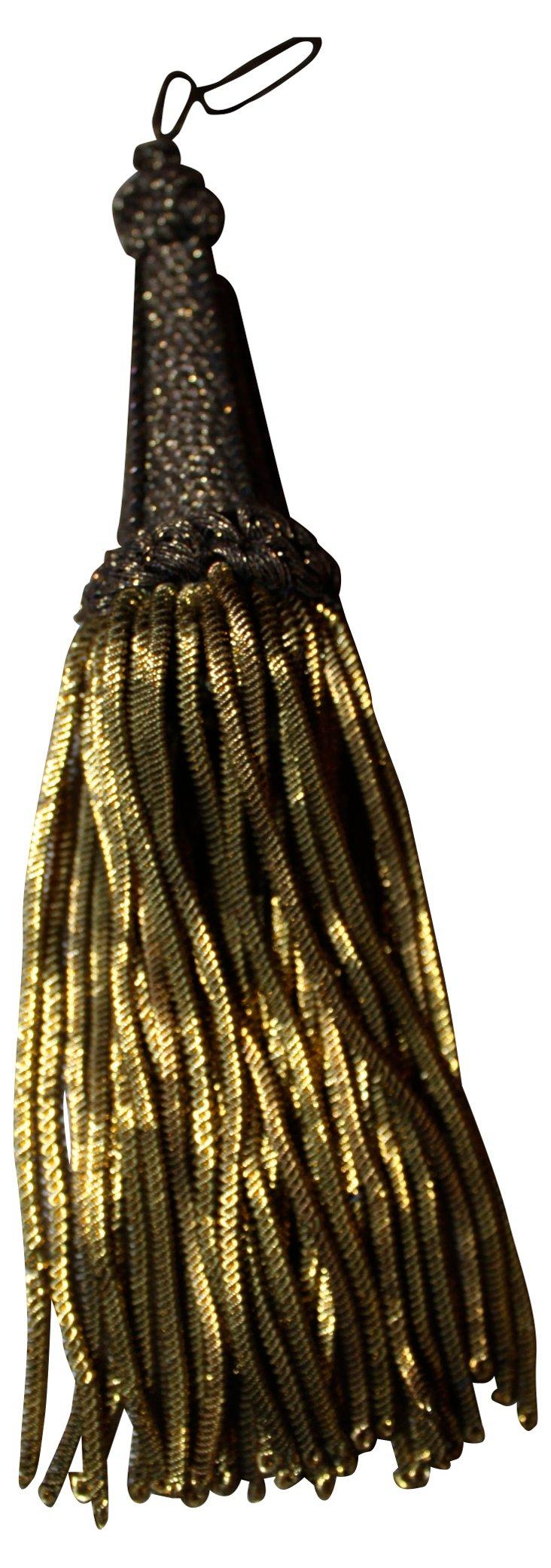 Antique  Metallic Tassel