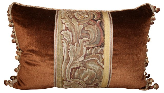 Bronze Tapestry Pillow
